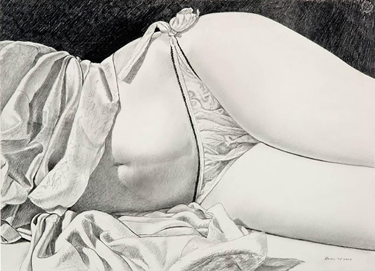 "Джон Касер (John Kacere), ""Untitled (Study)"""