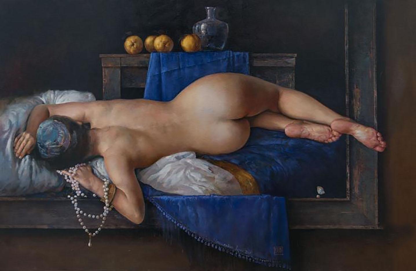 "Константин Качев (Konstantin Kacev) ""Nude - 4"""