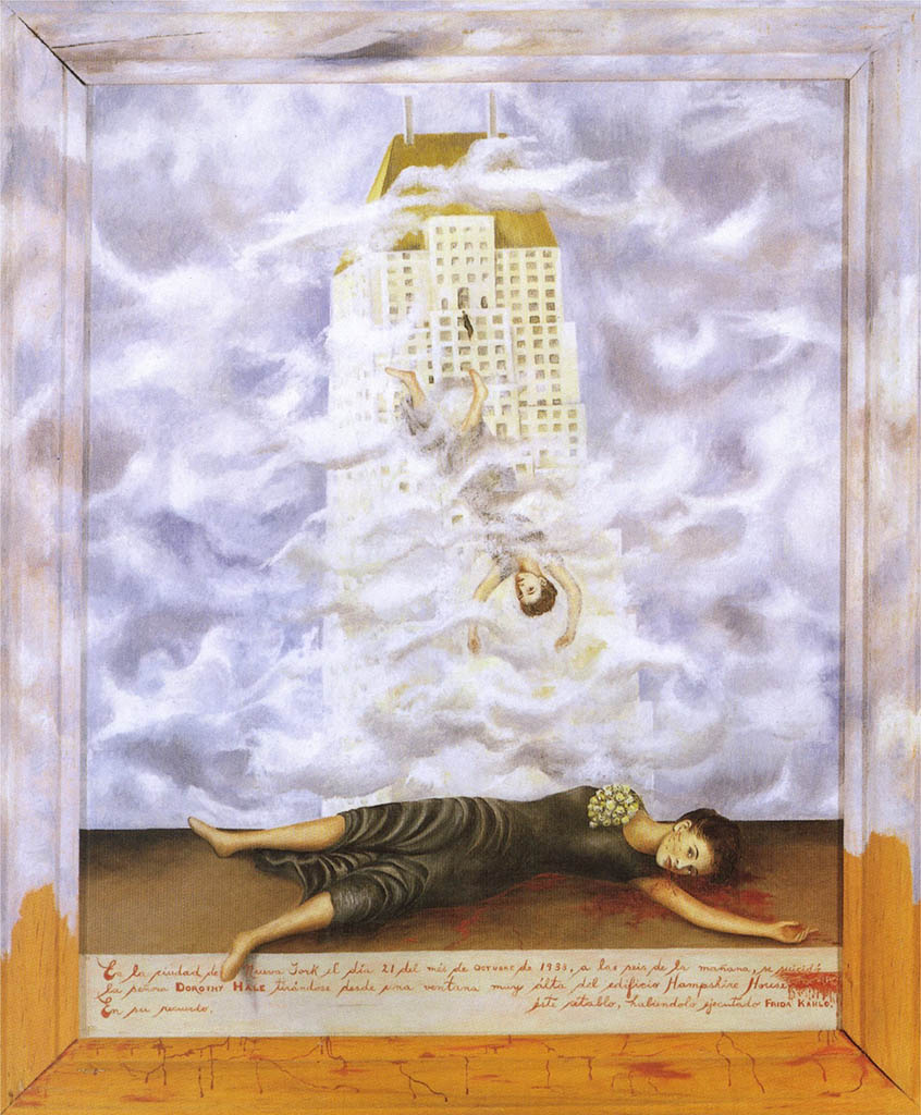 "Фрида Кало (Frida Kahlo), ""The Suicide Of Dorothy Hale"""