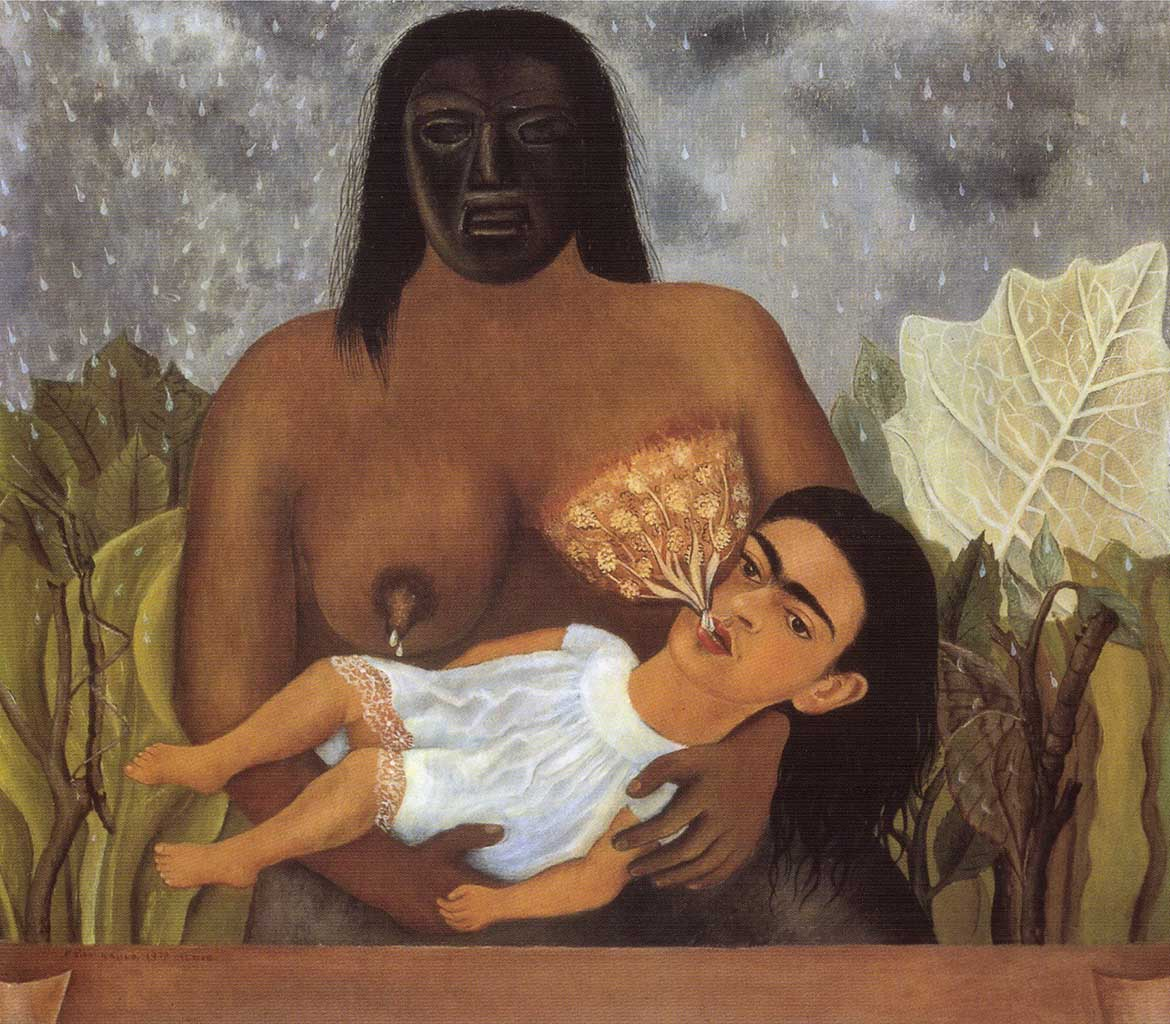 "Фрида Кало (Frida Kahlo), ""My Nurse and I"""