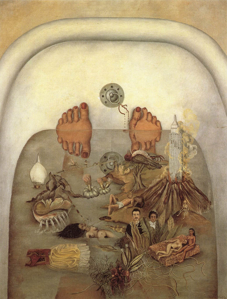 "Фрида Кало (Frida Kahlo), ""What the Water Gave Me"""
