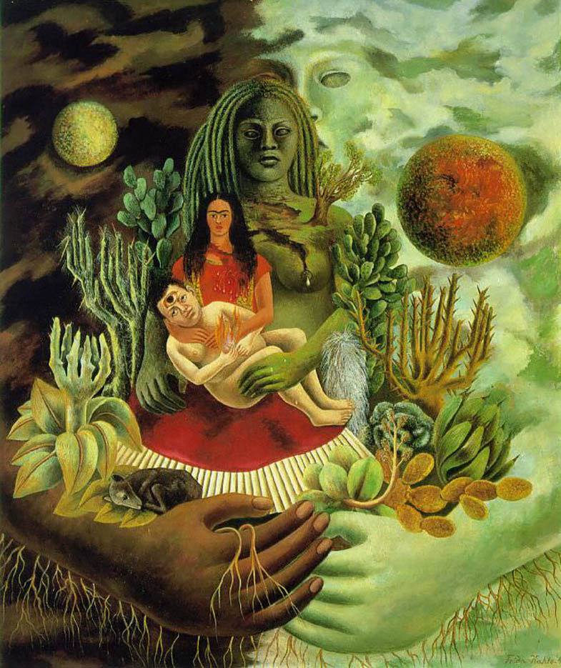 "Фрида Кало (Frida Kahlo), ""The Love Embrace of the Universe, the Earth"""