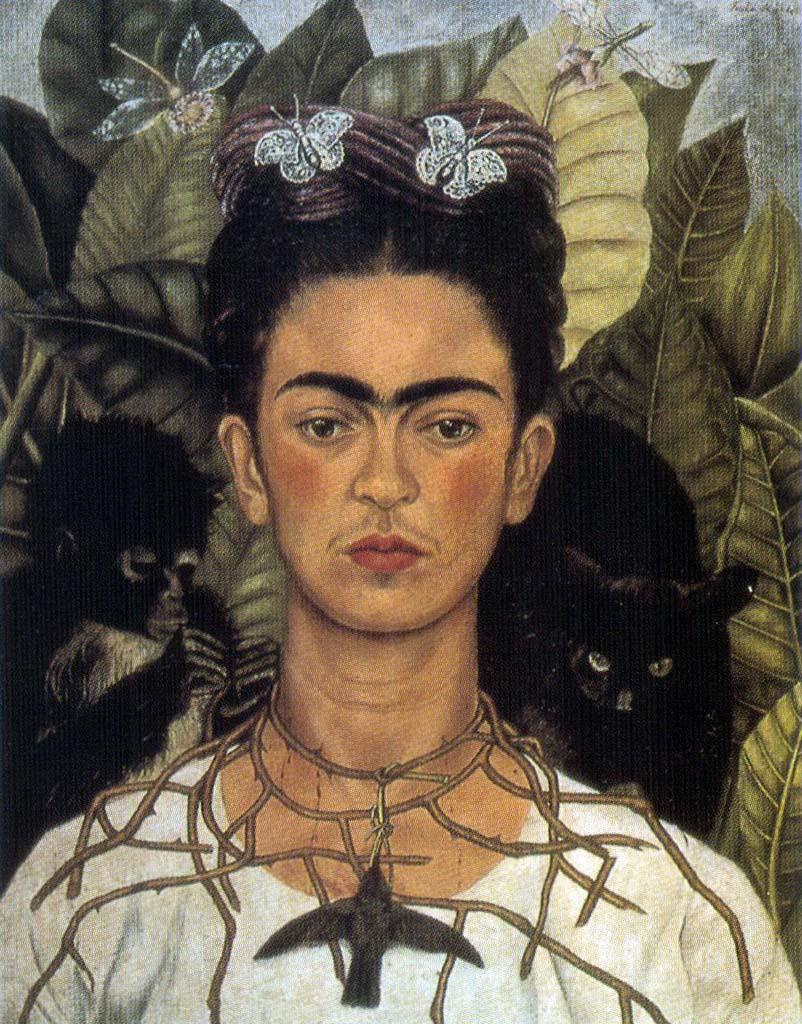 """Фрида Кало (Frida Kahlo), """"Автопортрет"""""""