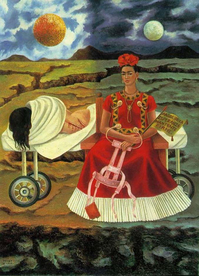 """Фрида Кало (Frida Kahlo), """"Автопортрет (2)"""""""