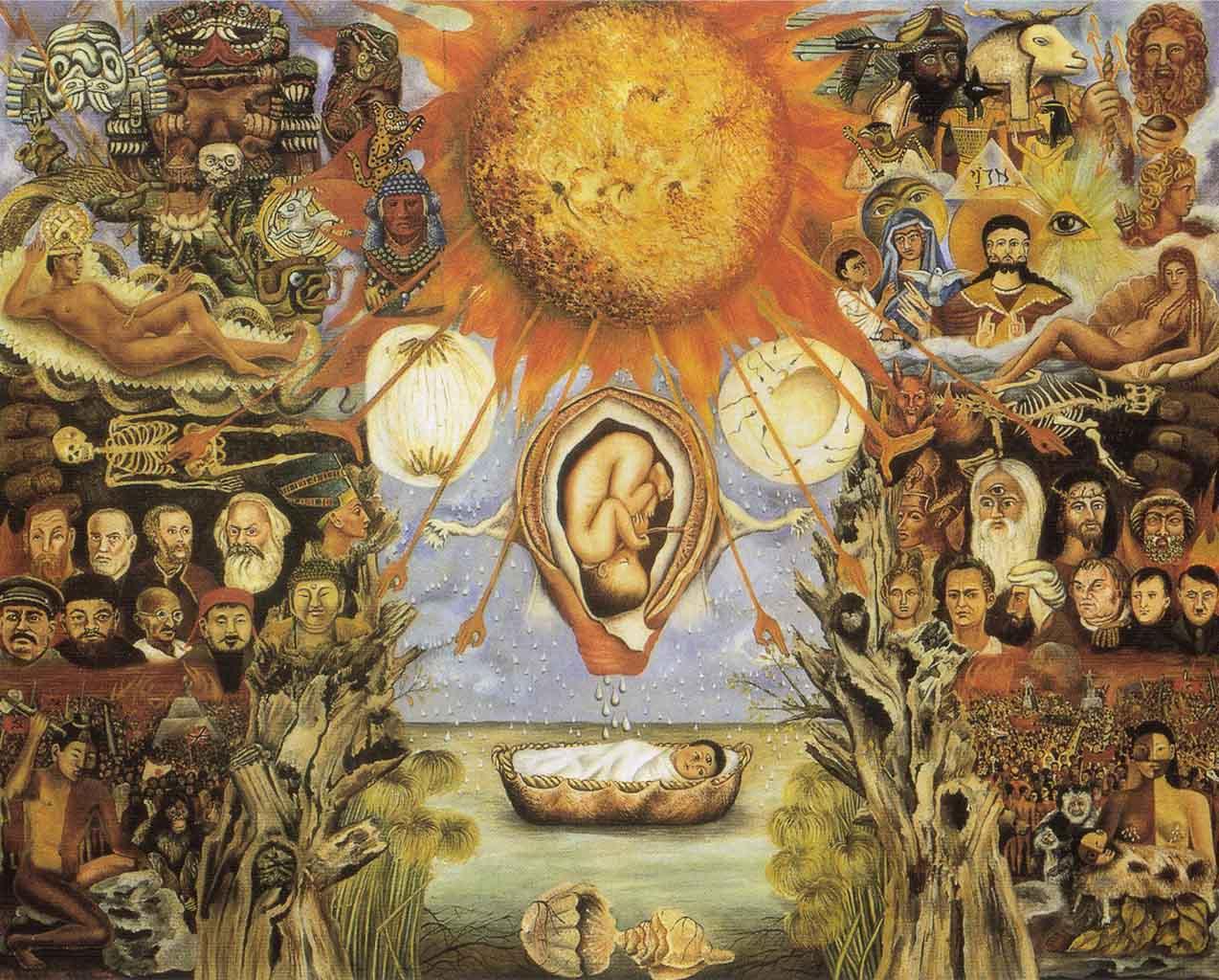 """Фрида Кало (Frida Kahlo), """"Moise (Le nucleus)"""""""