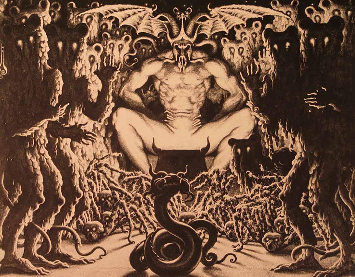"Николай Калмаков (Nikolai Kalmakov) ""Сатана | Satan"""