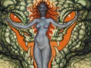 """Николай Калмаков (Nikolai Kalmakov) """"Deesse au Serpent"""""""