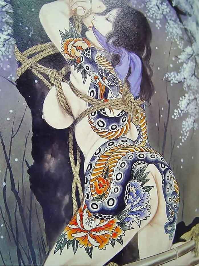 "Канаме, Озума Йоко (Kaname, Ozuma Yoko, Jito) ""Шибари, Сибари арт – 101   Shibari art - 101"""