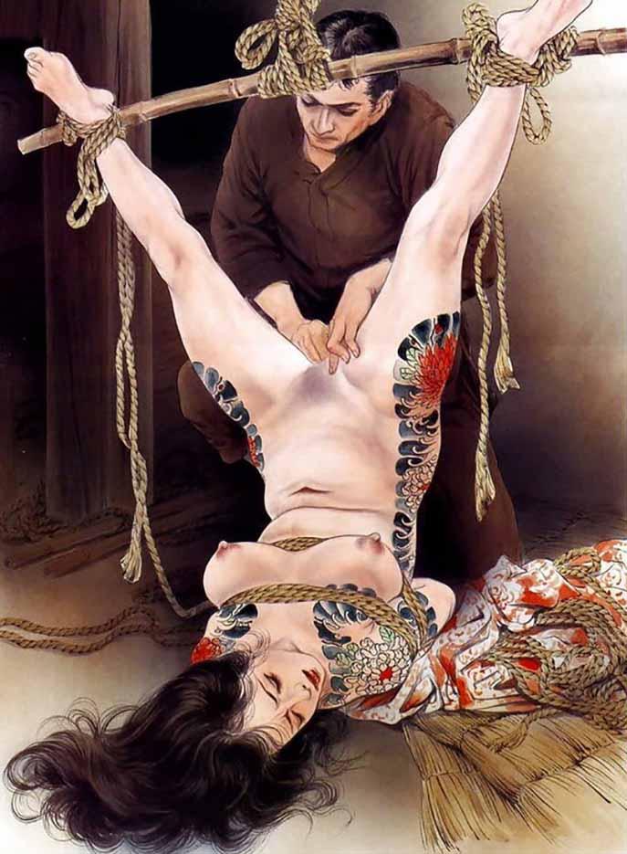 "Канаме, Озума Йоко (Kaname, Ozuma Yoko, Jito) ""Шибари, Сибари арт – 102   Shibari art - 102"""