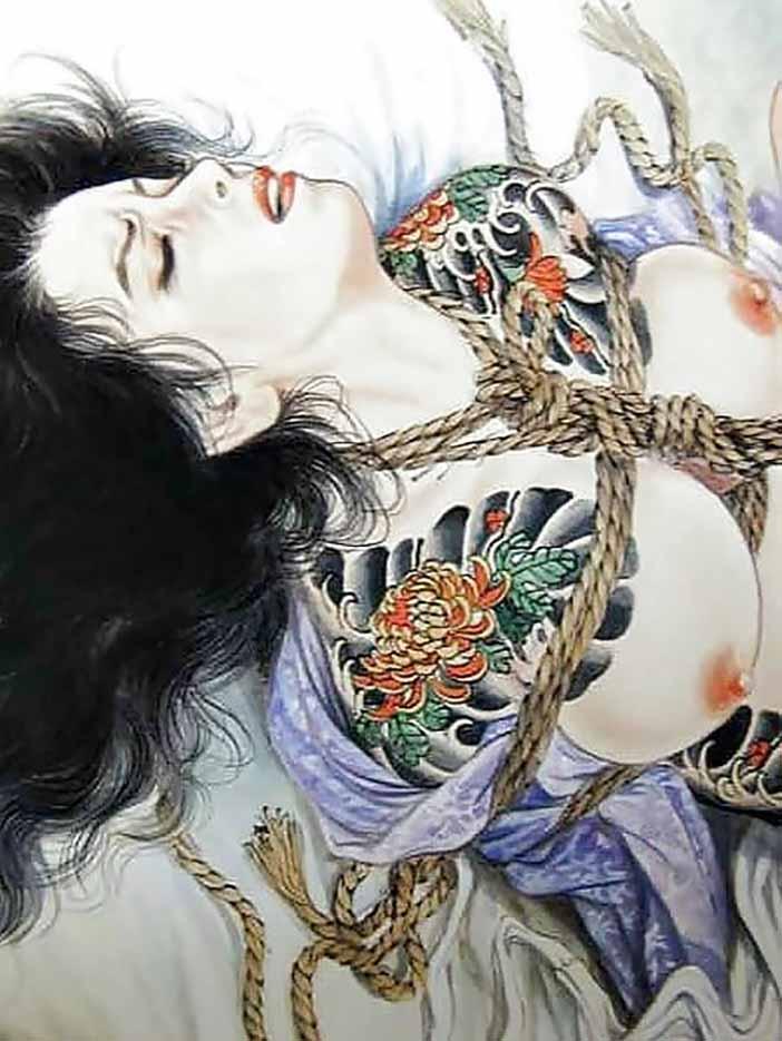 "Канаме, Озума Йоко (Kaname, Ozuma Yoko, Jito) ""Шибари, Сибари арт – 103   Shibari art - 103"""