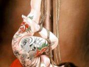"Канаме, Озума Йоко (Kaname, Ozuma Yoko, Jito) ""Шибари, Сибари арт – 104 | Shibari art - 104"""