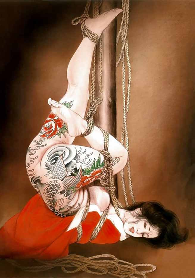 "Канаме, Озума Йоко (Kaname, Ozuma Yoko, Jito) ""Шибари, Сибари арт – 104   Shibari art - 104"""