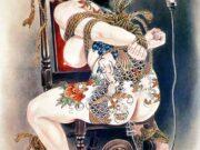 "Канаме, Озума Йоко (Kaname, Ozuma Yoko, Jito) ""Шибари, Сибари арт – 105 | Shibari art - 105"""