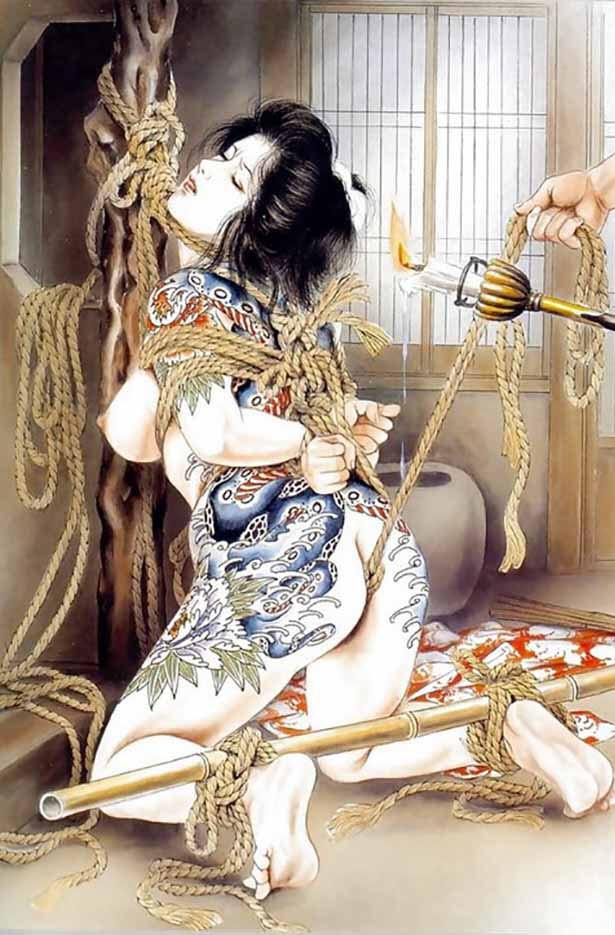 "Канаме, Озума Йоко (Kaname, Ozuma Yoko, Jito) ""Шибари, Сибари арт – 108   Shibari art - 108"""
