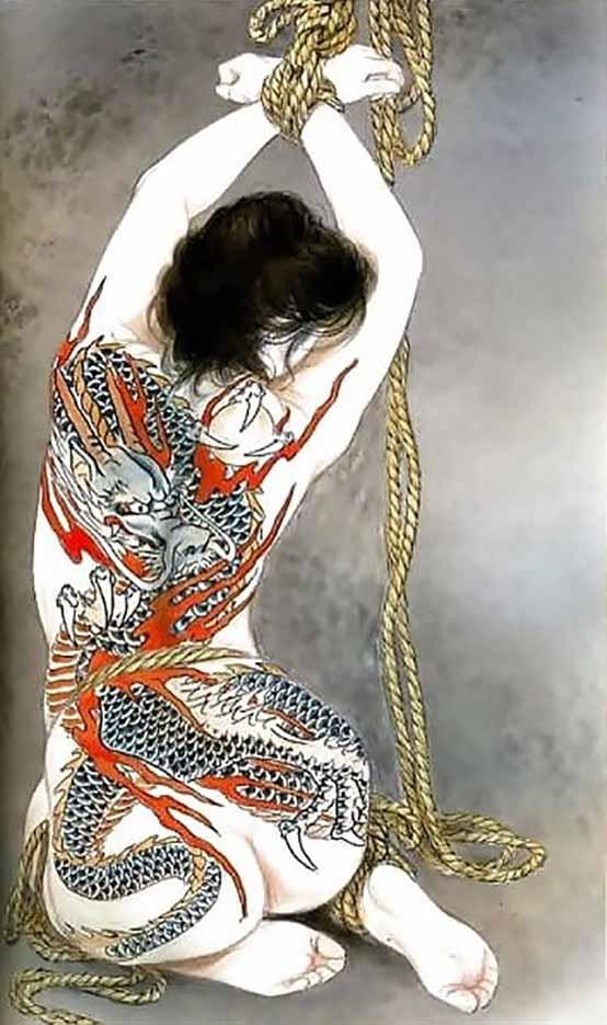 "Канаме, Озума Йоко (Kaname, Ozuma Yoko, Jito) ""Шибари, Сибари арт – 113   Shibari art - 113"""