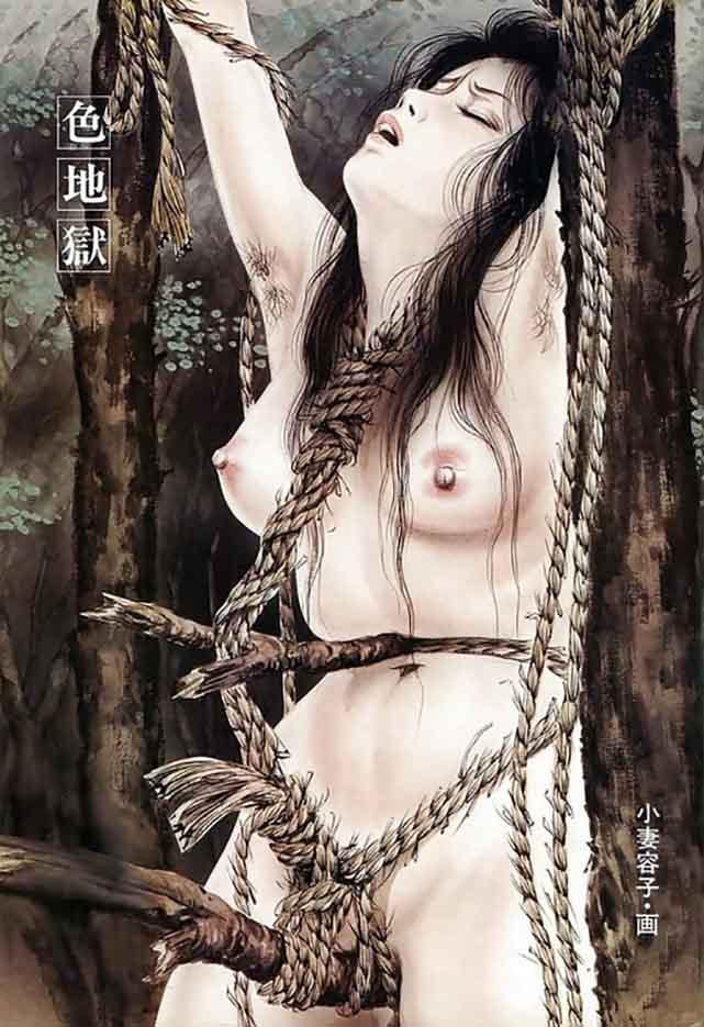"Канаме, Озума Йоко (Kaname, Ozuma Yoko, Jito) ""Шибари, Сибари арт – 116   Shibari art - 116"""