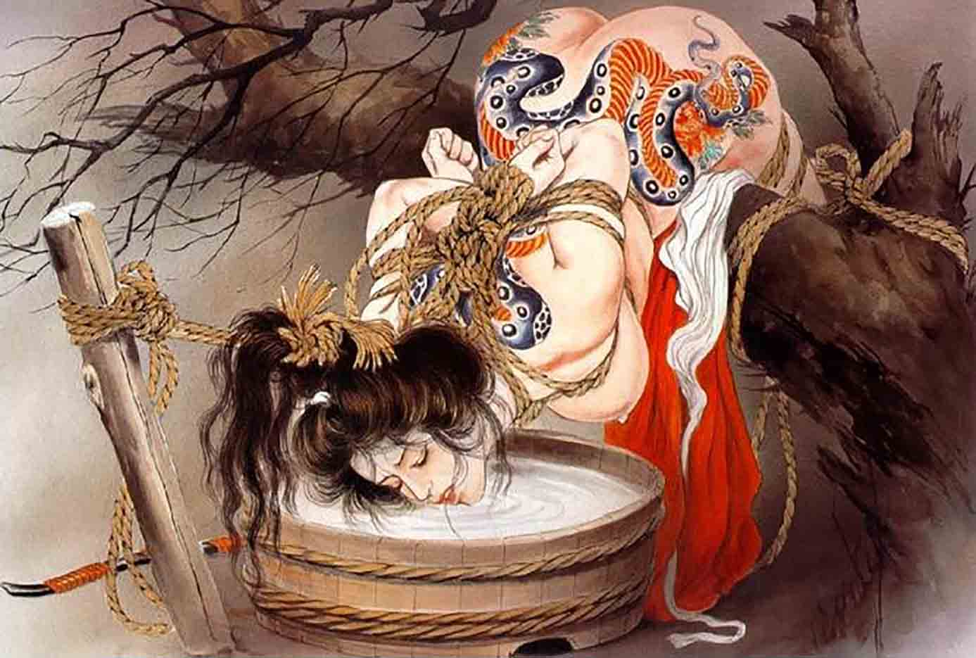 "Канаме, Озума Йоко (Kaname, Ozuma Yoko, Jito) ""Шибари, Сибари арт – 12   Shibari art - 12"""