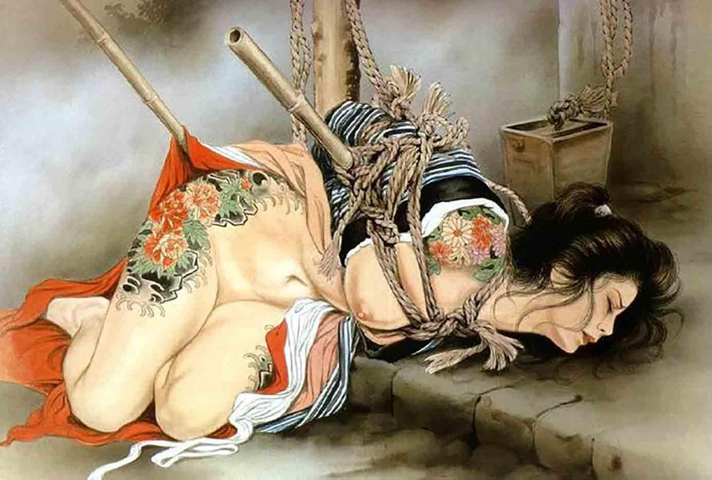 "Канаме, Озума Йоко (Kaname, Ozuma Yoko, Jito) ""Шибари, Сибари арт – 13   Shibari art - 13"""