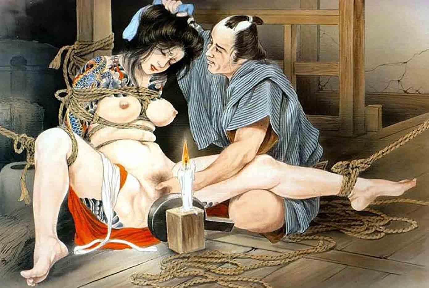 "Канаме, Озума Йоко (Kaname, Ozuma Yoko, Jito) ""Шибари, Сибари арт – 15   Shibari art - 15"""