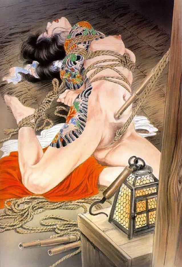 "Канаме, Озума Йоко (Kaname, Ozuma Yoko, Jito) ""Шибари, Сибари арт – 16   Shibari art - 16"""