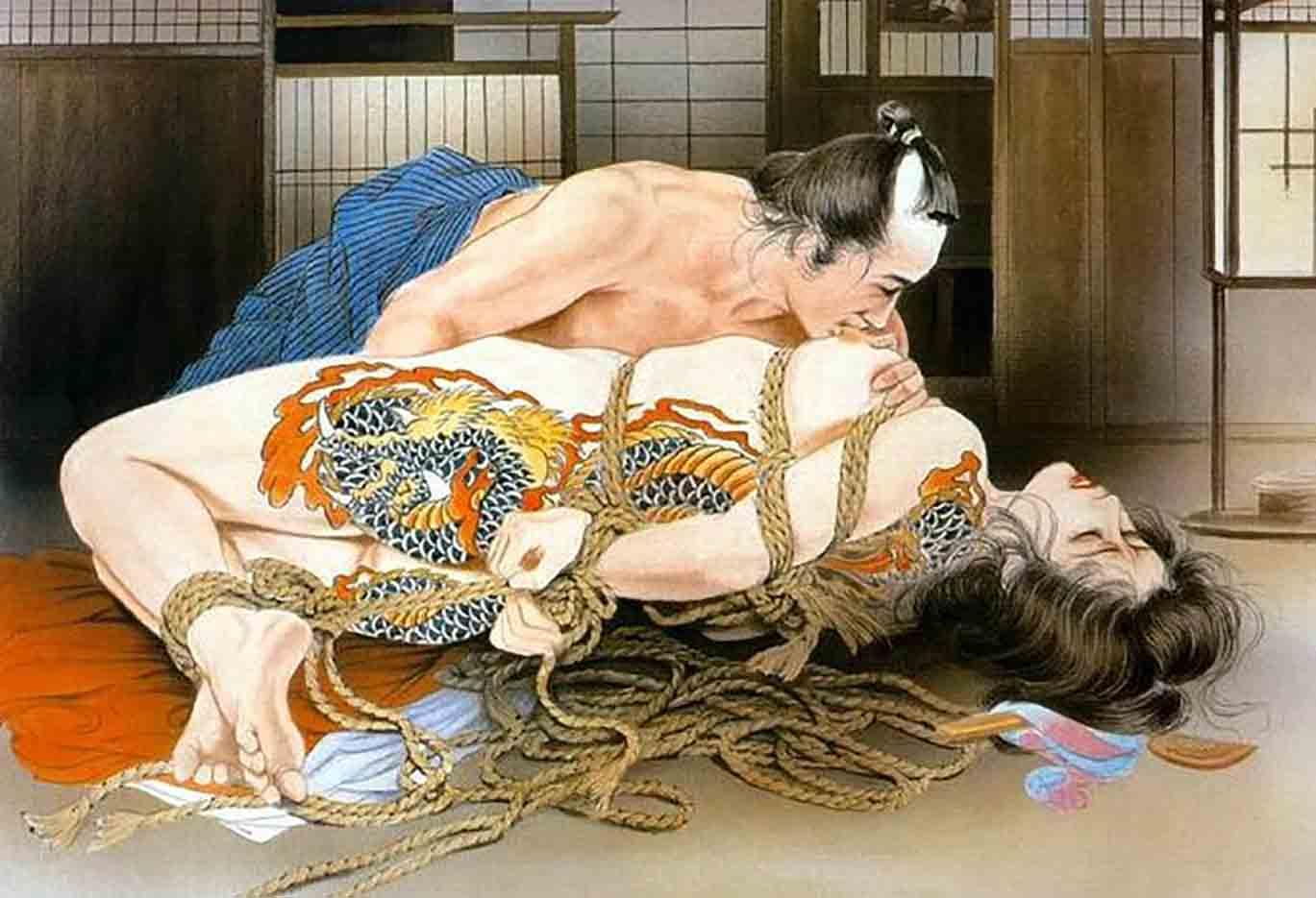 "Канаме, Озума Йоко (Kaname, Ozuma Yoko, Jito) ""Шибари, Сибари арт – 17 | Shibari art - 17"""