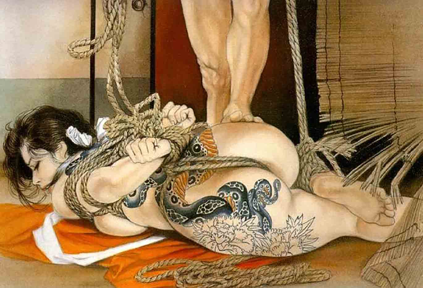 "Канаме, Озума Йоко (Kaname, Ozuma Yoko, Jito) ""Шибари, Сибари арт – 19   Shibari art - 19"""