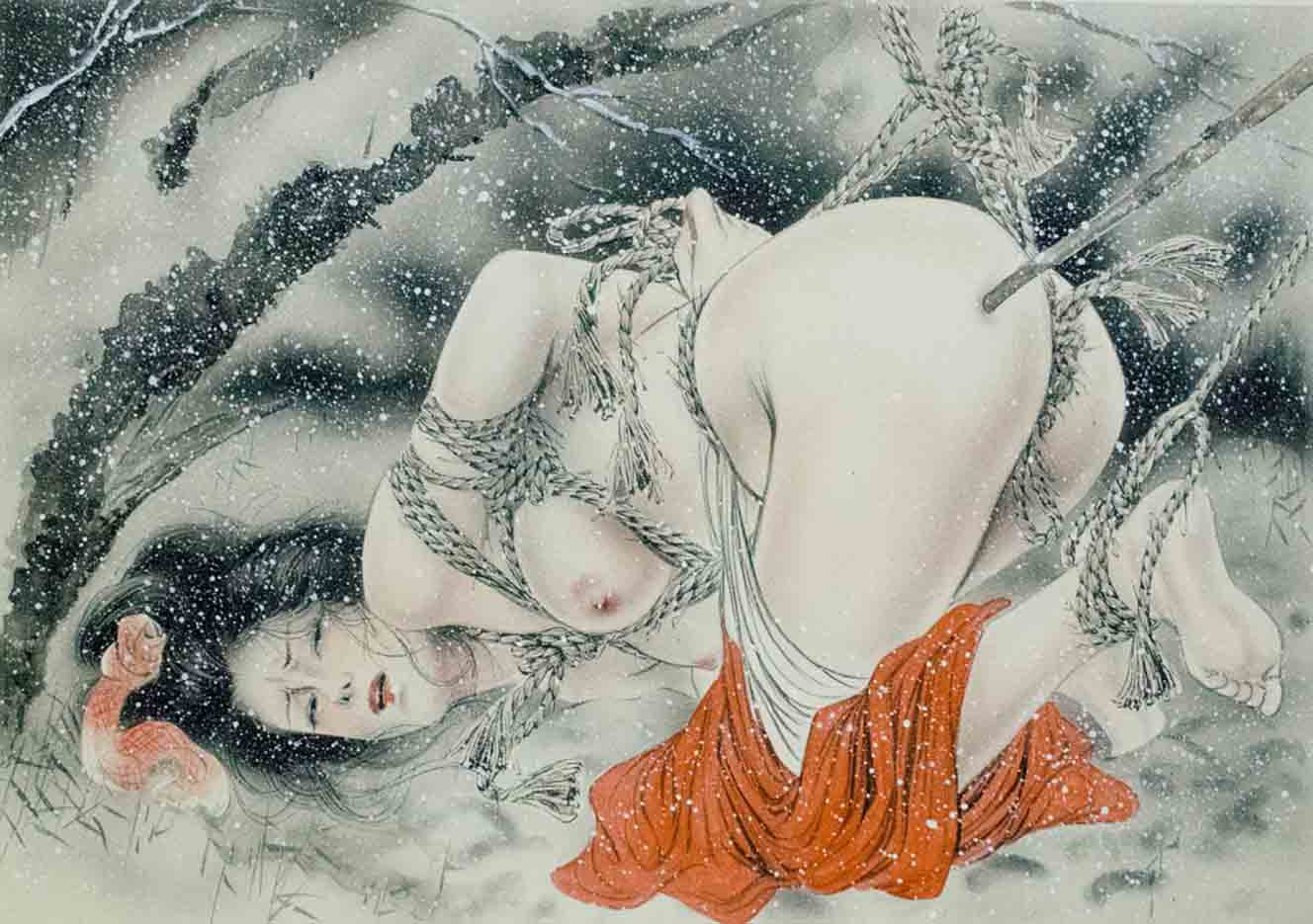 "Канаме, Озума Йоко (Kaname, Ozuma Yoko, Jito) ""Шибари, Сибари арт – 1   Shibari art - 1"""