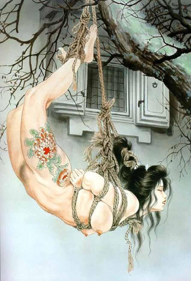 "Канаме, Озума Йоко (Kaname, Ozuma Yoko, Jito) ""Шибари, Сибари арт – 21   Shibari art - 21"""