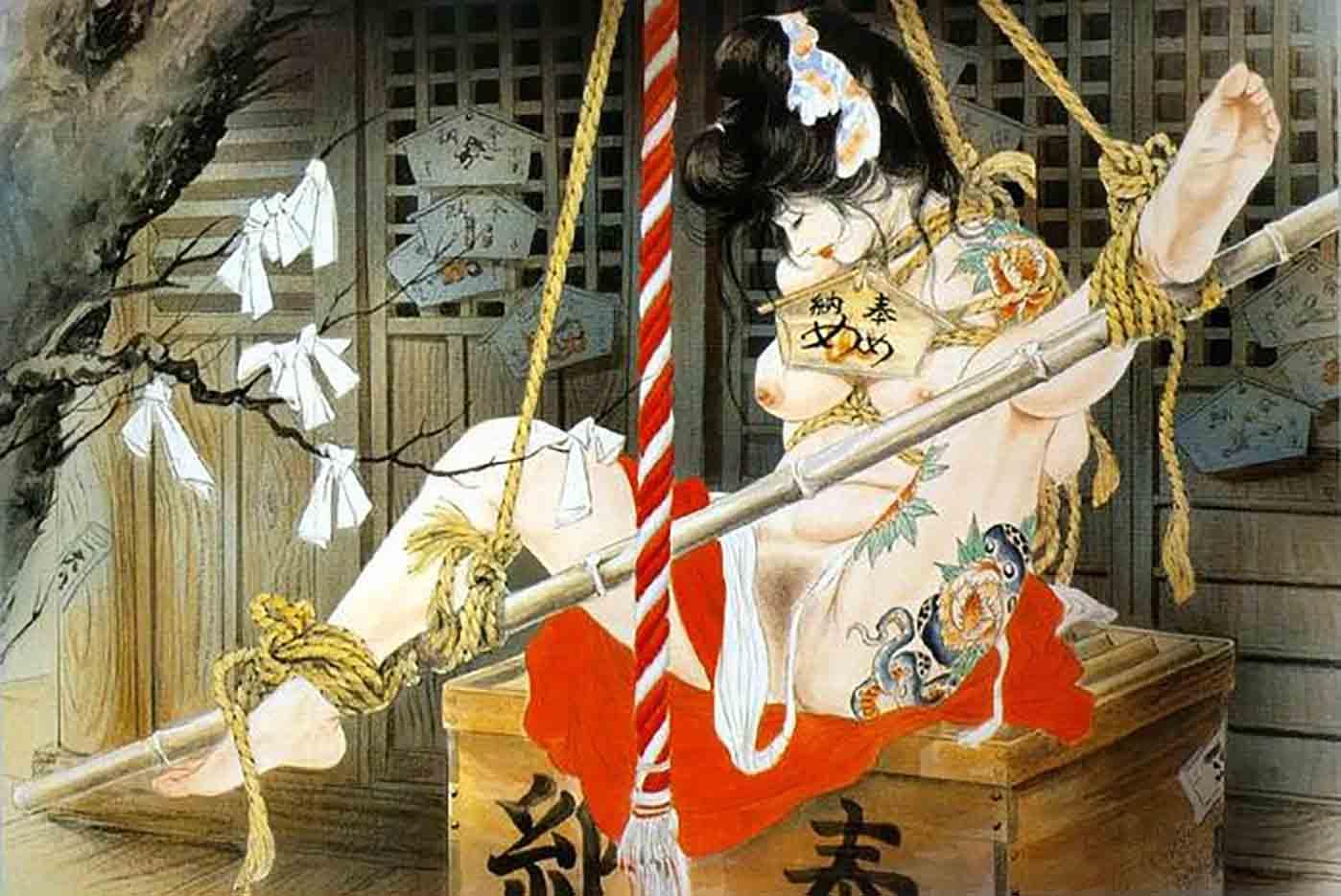 "Канаме, Озума Йоко (Kaname, Ozuma Yoko, Jito) ""Шибари, Сибари арт – 23   Shibari art - 23"""