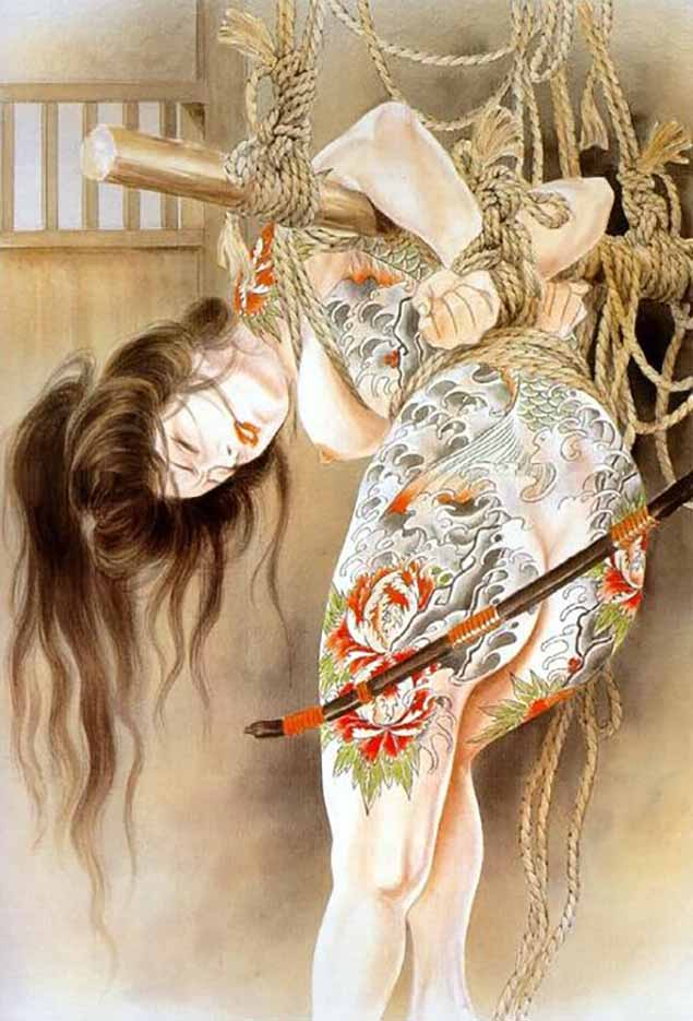 "Канаме, Озума Йоко (Kaname, Ozuma Yoko, Jito) ""Шибари, Сибари арт – 26   Shibari art - 26"""