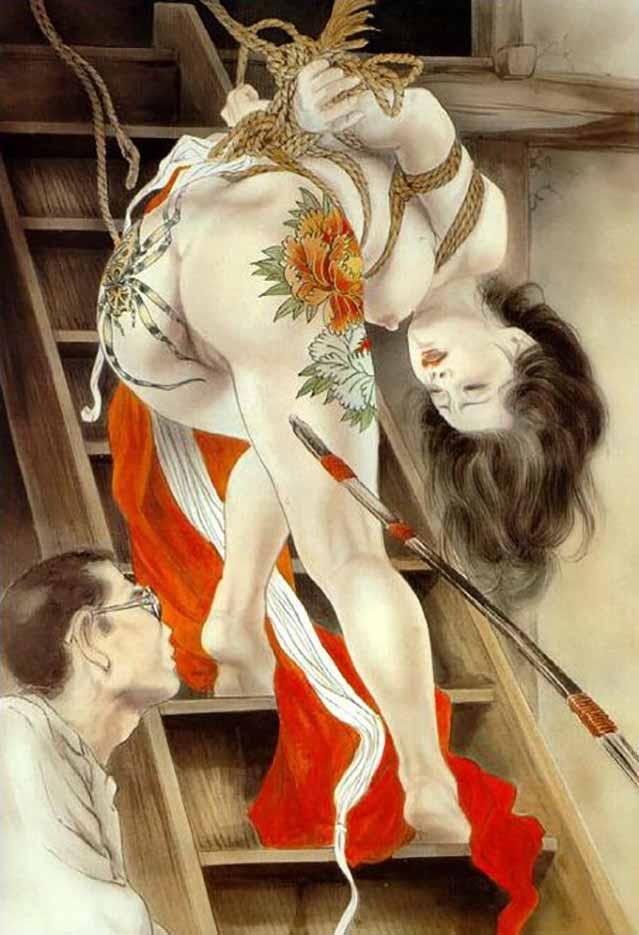 "Канаме, Озума Йоко (Kaname, Ozuma Yoko, Jito) ""Шибари, Сибари арт – 30   Shibari art - 30"""