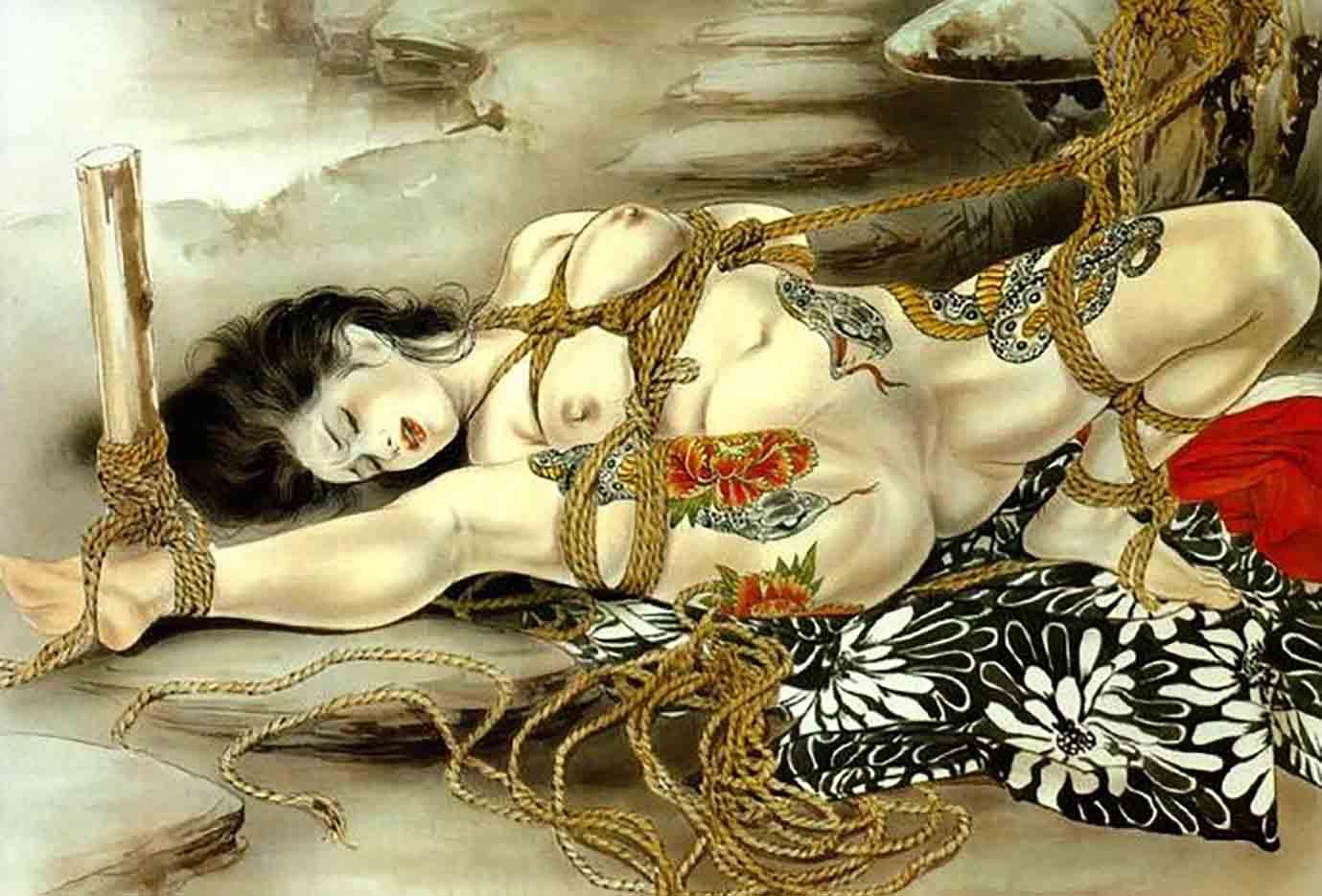 "Канаме, Озума Йоко (Kaname, Ozuma Yoko, Jito) ""Шибари, Сибари арт – 31 | Shibari art - 31"""