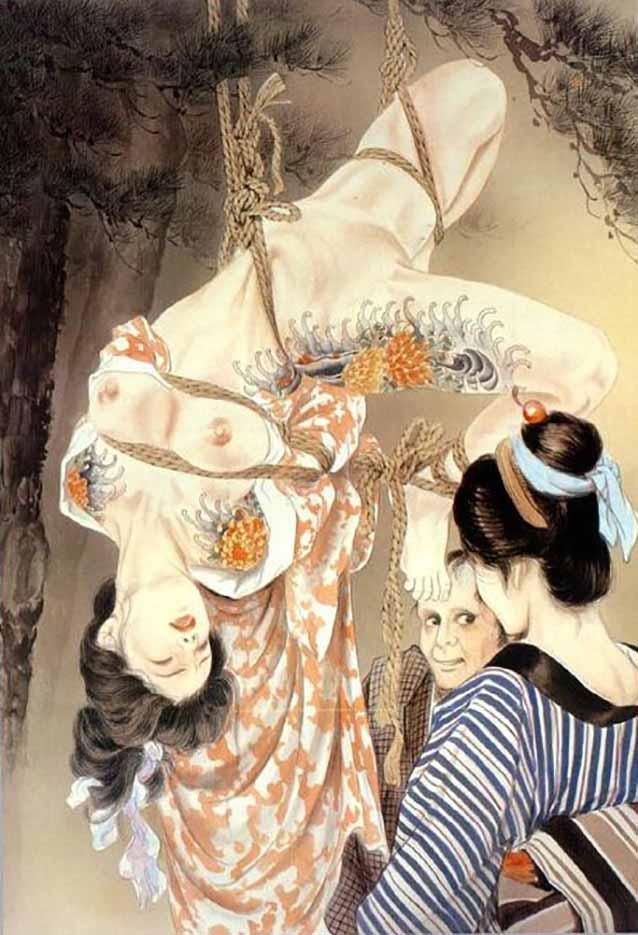 "Канаме, Озума Йоко (Kaname, Ozuma Yoko, Jito) ""Шибари, Сибари арт – 34   Shibari art - 34"""