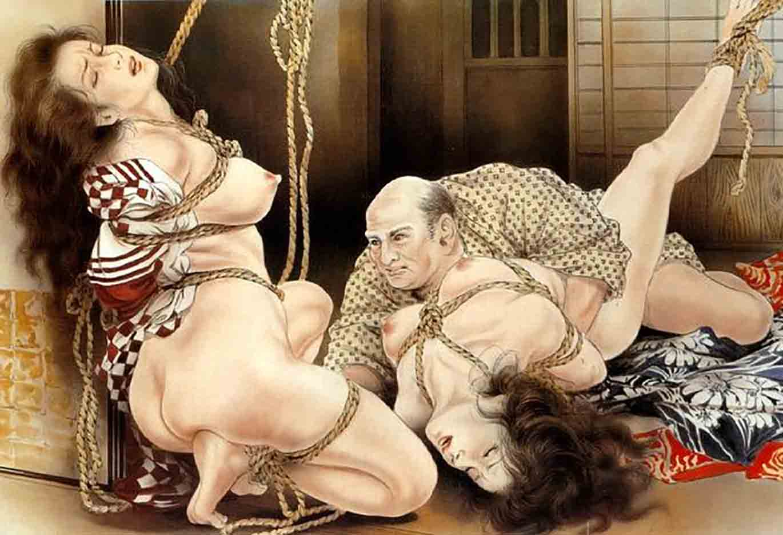 "Канаме, Озума Йоко (Kaname, Ozuma Yoko, Jito) ""Шибари, Сибари арт – 36   Shibari art - 36"""