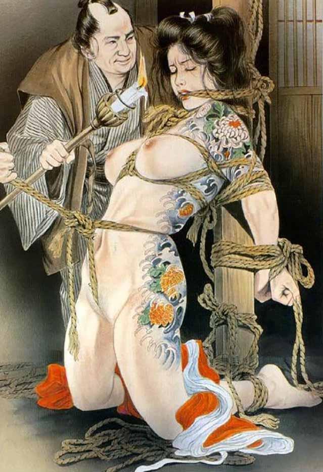 "Канаме, Озума Йоко (Kaname, Ozuma Yoko, Jito) ""Шибари, Сибари арт – 38   Shibari art - 38"""
