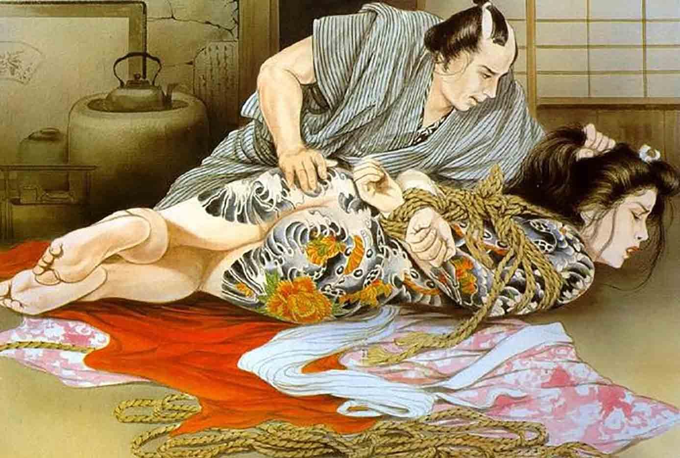 "Канаме, Озума Йоко (Kaname, Ozuma Yoko, Jito) ""Шибари, Сибари арт – 39   Shibari art - 39"""