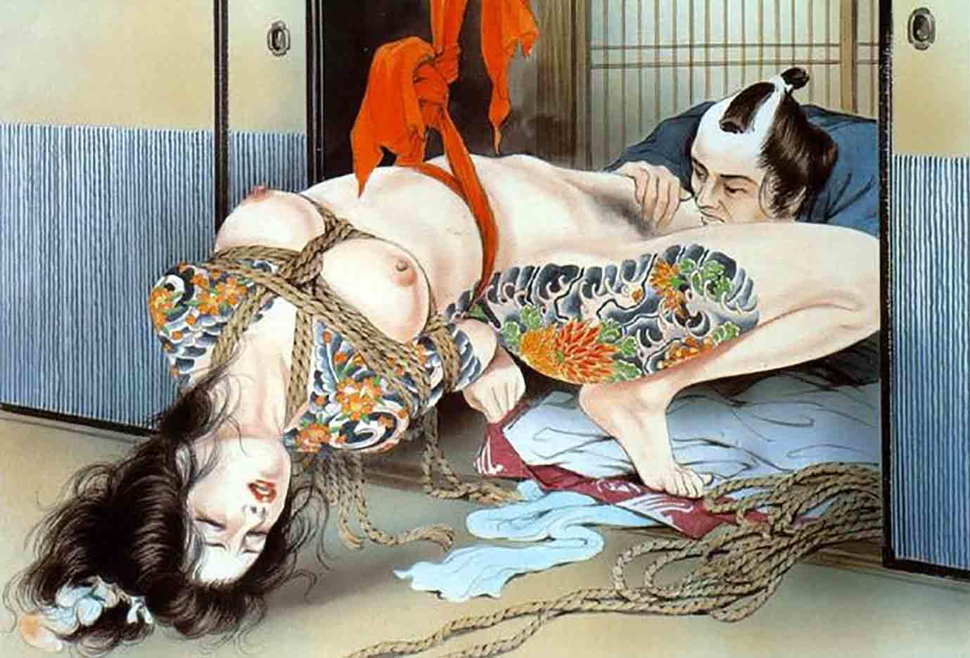 "Канаме, Озума Йоко (Kaname, Ozuma Yoko, Jito) ""Шибари, Сибари арт – 40   Shibari art - 40"""