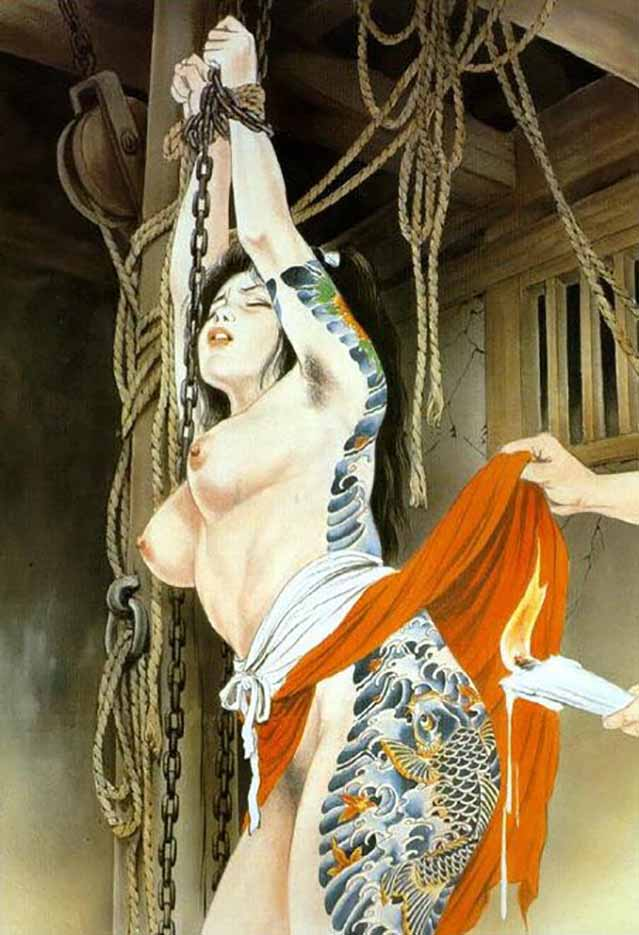 "Канаме, Озума Йоко (Kaname, Ozuma Yoko, Jito) ""Шибари, Сибари арт – 41   Shibari art - 41"""
