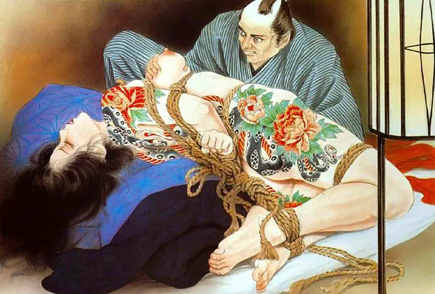 "Канаме, Озума Йоко (Kaname, Ozuma Yoko, Jito) ""Шибари, Сибари арт – 42   Shibari art - 42"""