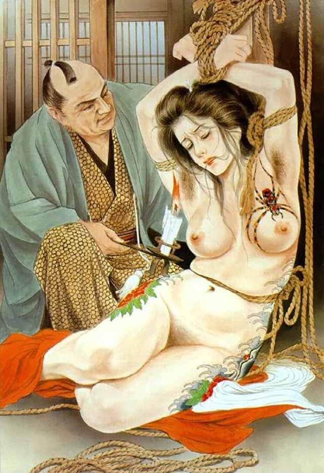"Канаме, Озума Йоко (Kaname, Ozuma Yoko, Jito) ""Шибари, Сибари арт – 43   Shibari art - 43"""
