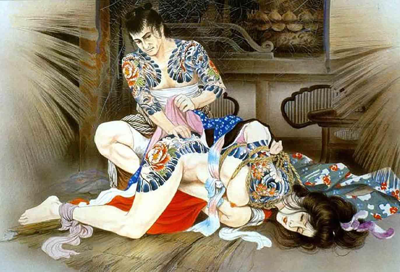 "Канаме, Озума Йоко (Kaname, Ozuma Yoko, Jito) ""Шибари, Сибари арт – 44   Shibari art - 44"""