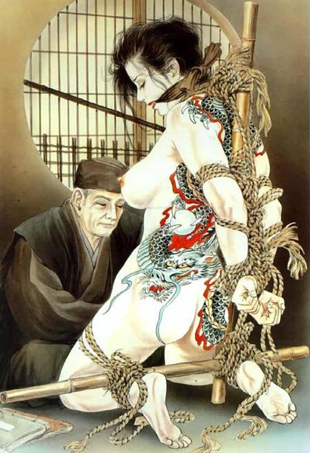 "Канаме, Озума Йоко (Kaname, Ozuma Yoko, Jito) ""Шибари, Сибари арт – 47   Shibari art - 47"""
