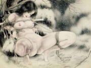 "Канаме, Озума Йоко (Kaname, Ozuma Yoko, Jito) ""Шибари, Сибари арт – 4 | Shibari art - 4"""