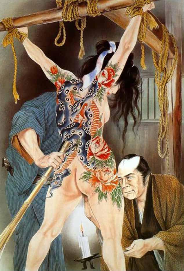 "Канаме, Озума Йоко (Kaname, Ozuma Yoko, Jito) ""Шибари, Сибари арт – 50   Shibari art - 50"""