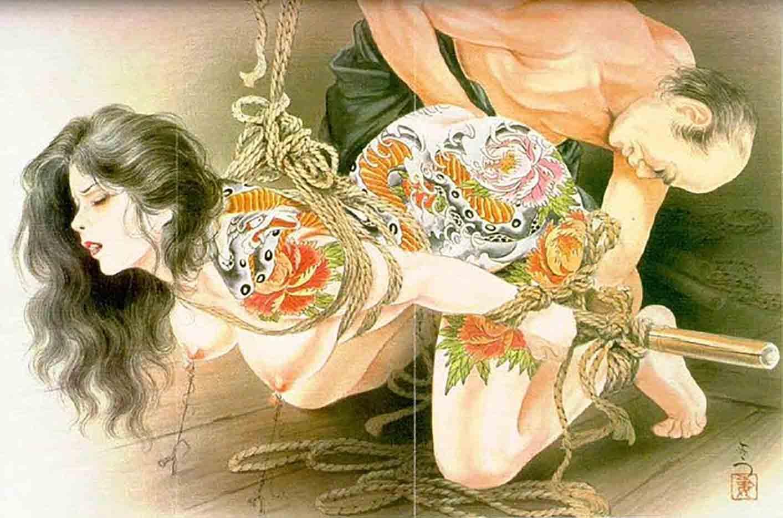 "Канаме, Озума Йоко (Kaname, Ozuma Yoko, Jito) ""Шибари, Сибари арт – 55   Shibari art - 55"""