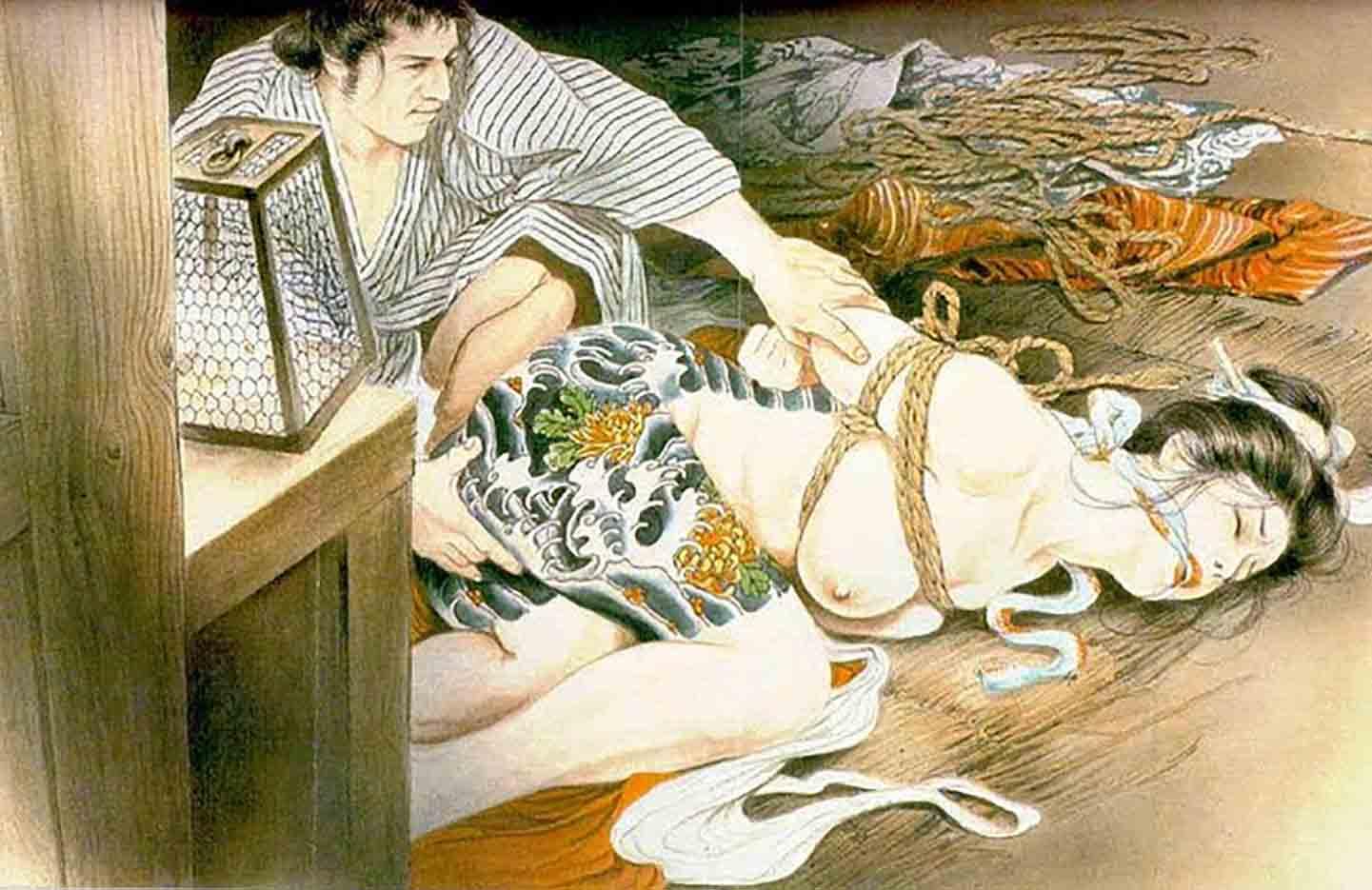 "Канаме, Озума Йоко (Kaname, Ozuma Yoko, Jito) ""Шибари, Сибари арт – 56   Shibari art - 56"""