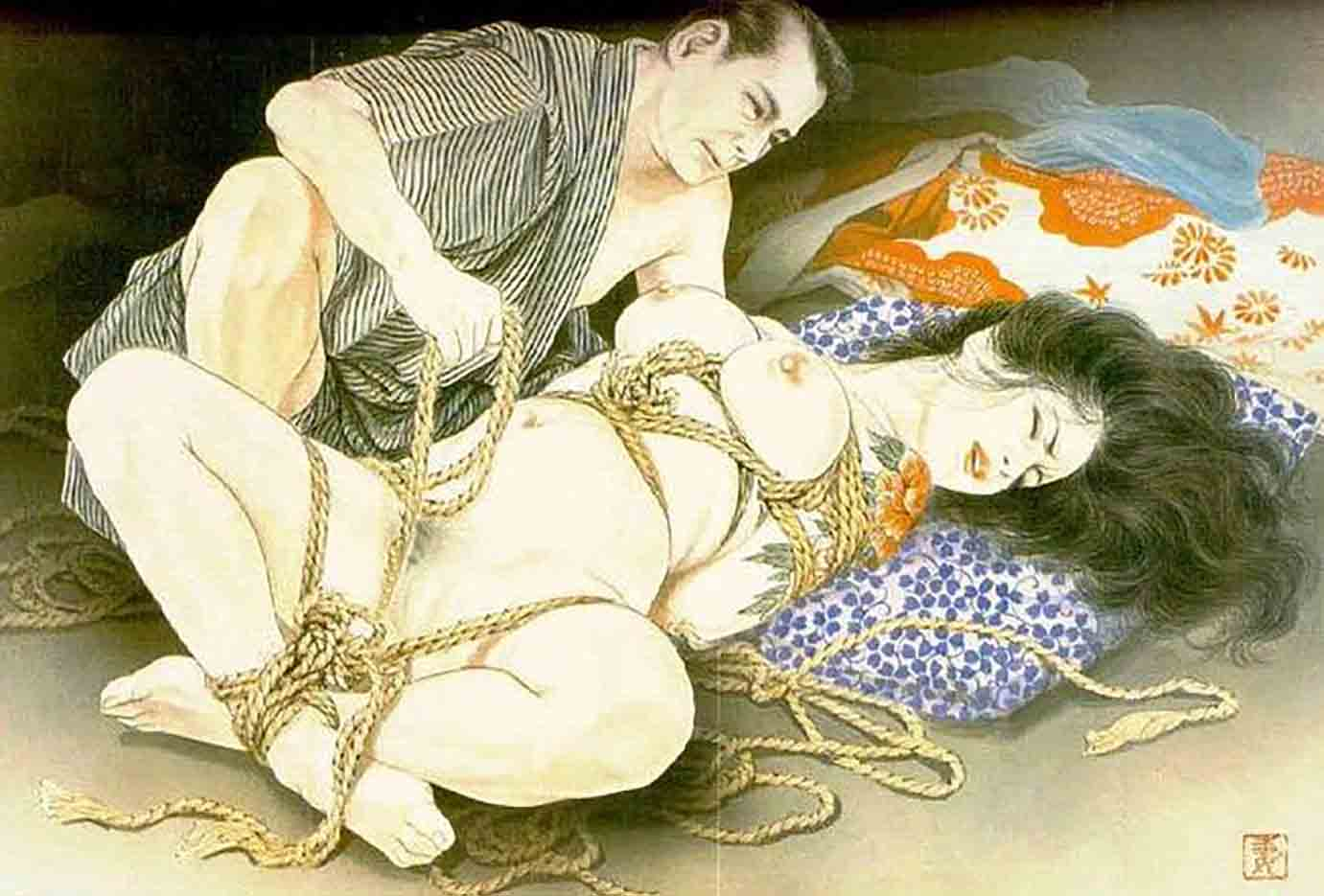 "Канаме, Озума Йоко (Kaname, Ozuma Yoko, Jito) ""Шибари, Сибари арт – 57   Shibari art - 57"""