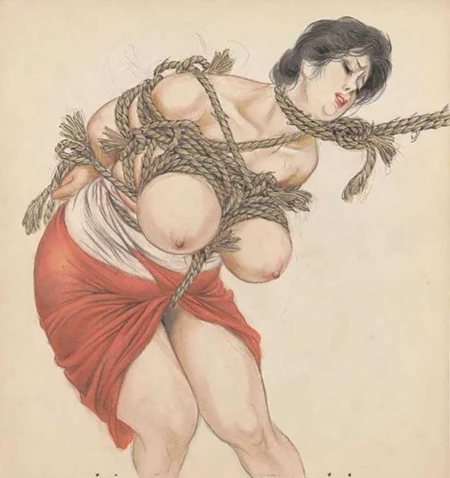 "Канаме, Озума Йоко (Kaname, Ozuma Yoko, Jito) ""Шибари, Сибари арт – 60   Shibari art - 60"""