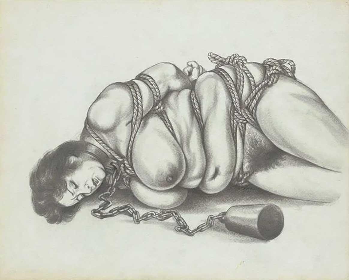 "Канаме, Озума Йоко (Kaname, Ozuma Yoko, Jito) ""Шибари, Сибари арт – 66   Shibari art - 66"""
