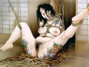 "Канаме, Озума Йоко (Kaname, Ozuma Yoko, Jito) ""Шибари, Сибари арт – 71 | Shibari art - 71"""